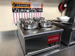 Canmac Wet Bain Marie – 4 Pots – New Model
