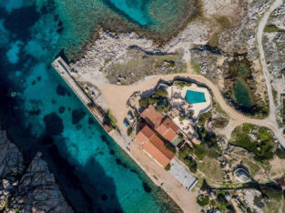 Villa With Private Pool In Sardinia Italy