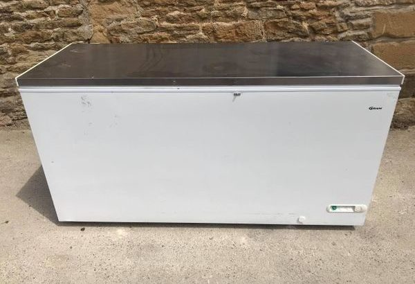 Chest Freezer Stainless Top
