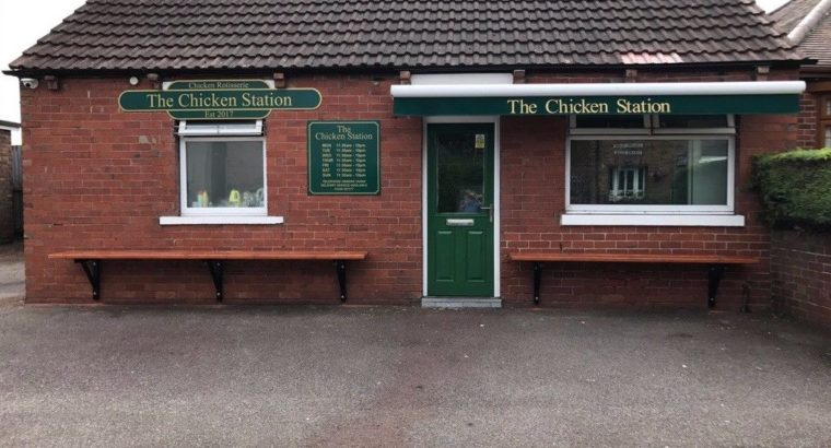 Takeaway Chicken Shop Closing Down Entire Shop Contents For Sale