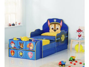 Paw Patrol Cube Toddler Bed Frame – Blue