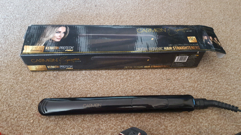 Carmen by Samantha faiers digital ceramic straighteners 230 degrees