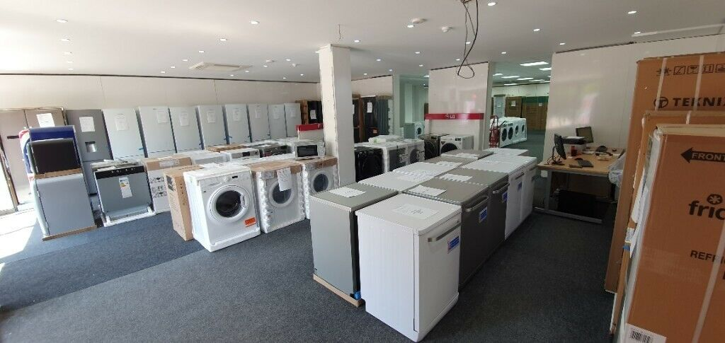 BRAND NEW SHOP OPENING – NEW & GRADED KITCHEN APPLIANCES – FRIDGE FREEZERS WASHING MACHINES COOKERS