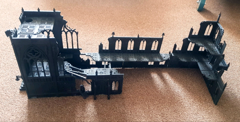 Warhammer 40k Imperial Cathedral / Monastery Ruins Terrain