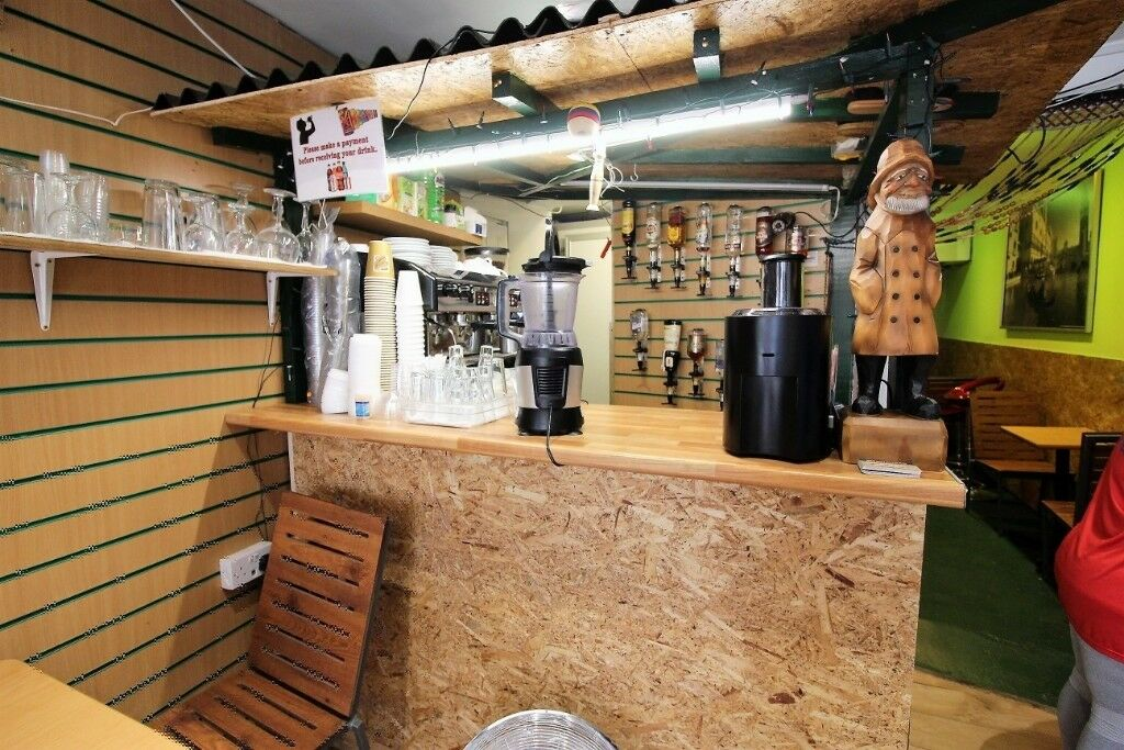Prime location running cafe business on West Green Road, Seven Sisters –Viewing by appointment only