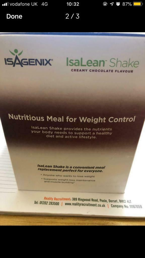 Isalean Weight Loss Shakes