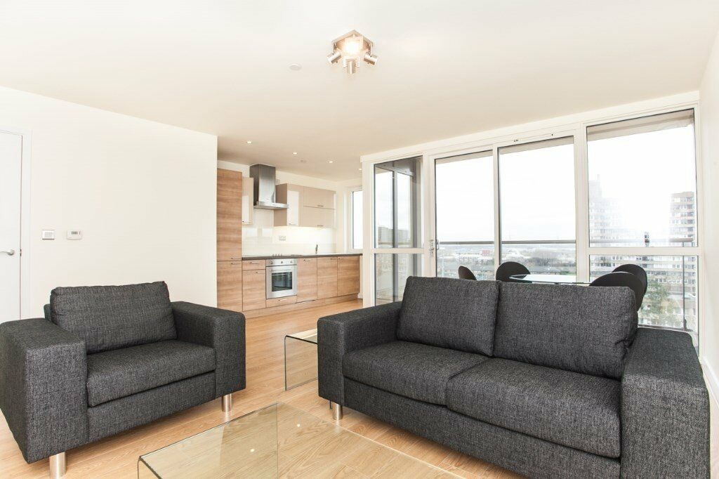 LUXURY 1 BED PANORAMIC TOWER E14 CANARY WHARF