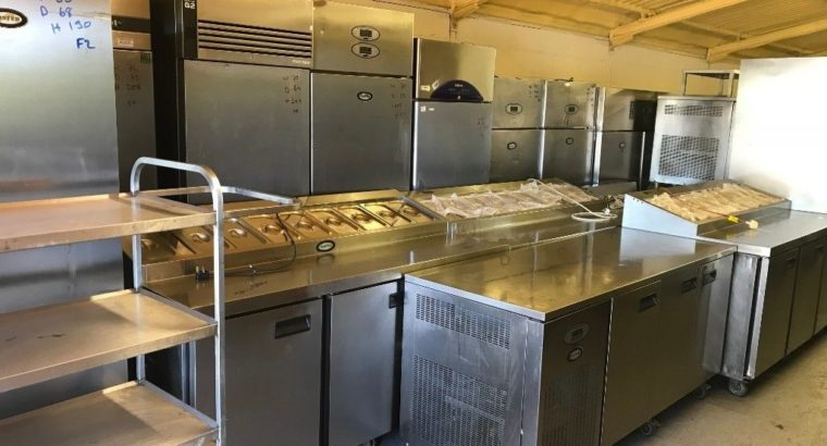 Upright Foster Fridge Catering Commercial Kitchen Equipment Cafe Kebab Restaurant Pizza Sandwich