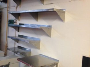 Stainless Steel Wall Shelf 60 cm / Take Away / Restaurant / Fast Food