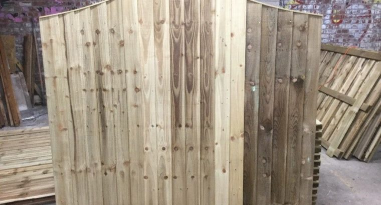 Excellent Quality Heavy Duty Omega Top Fence Panels