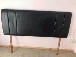 Leather headboard kingsize