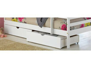 Home Josie Set of 2 White Single Drawers