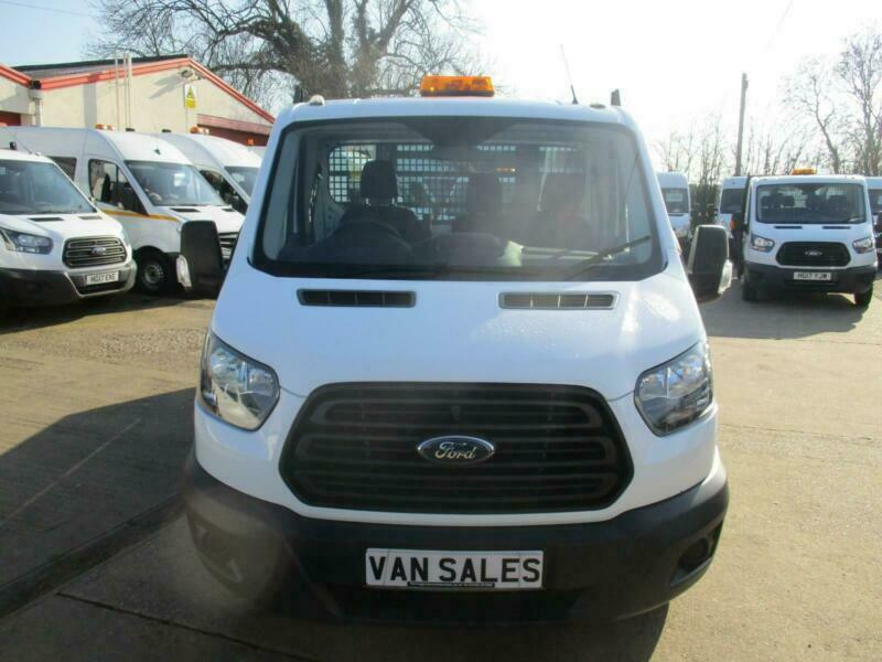 2017 17 reg FORD TRANSIT SINGLE CAB ALLOY TIPPER 350 EURO 6 TWIN WHEEL 23k ONLY