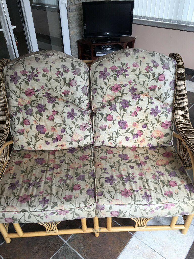 Set of conservatory furniture. Only ever used inside, never left out. Very good condition