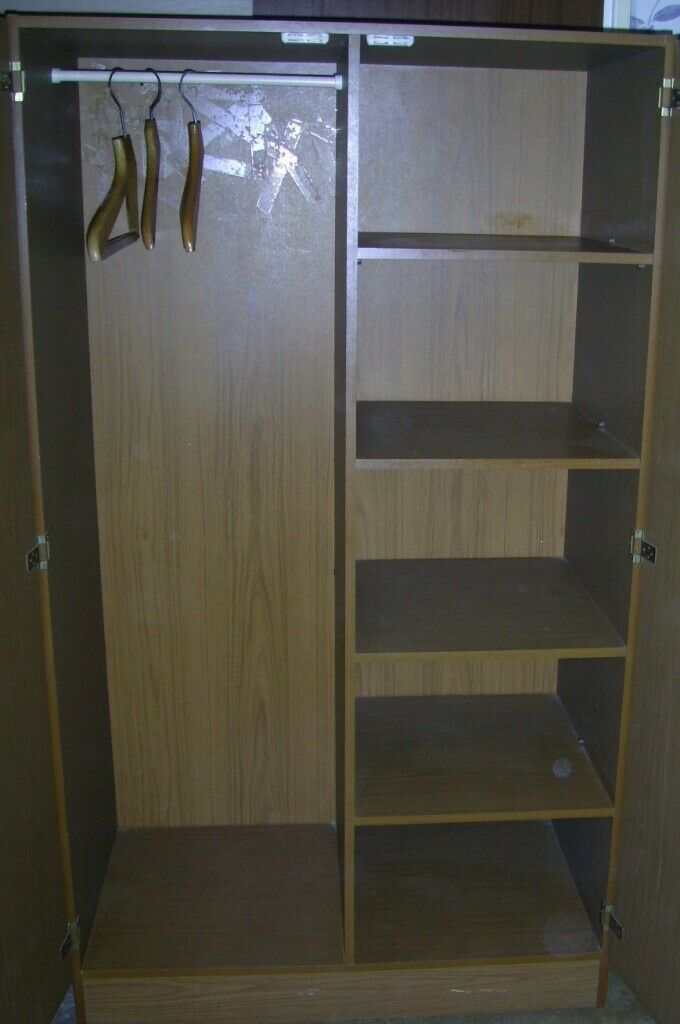 Vintage Wardrobe – Medium Oak Effect