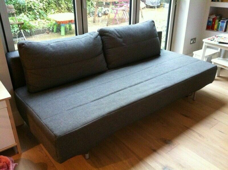 MUJI Futon Sofa Bed with Removable Sofabed Covers. Cost £750. Current Model VGC (Can Deliver)