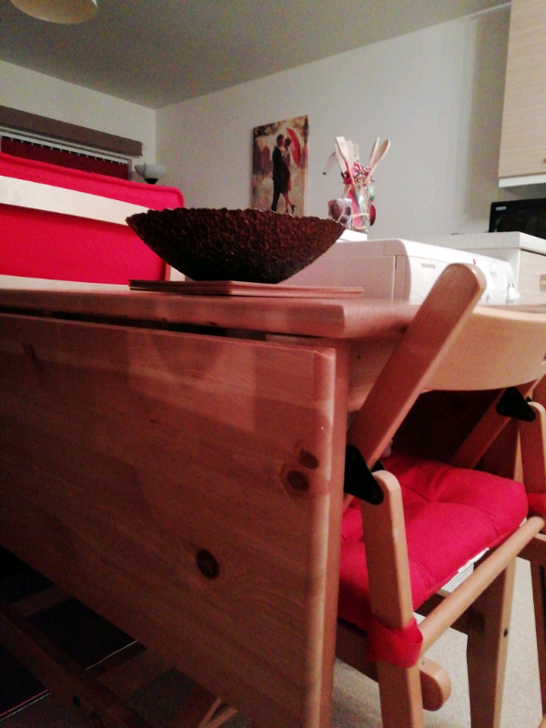 Ikea Table and folding chairs