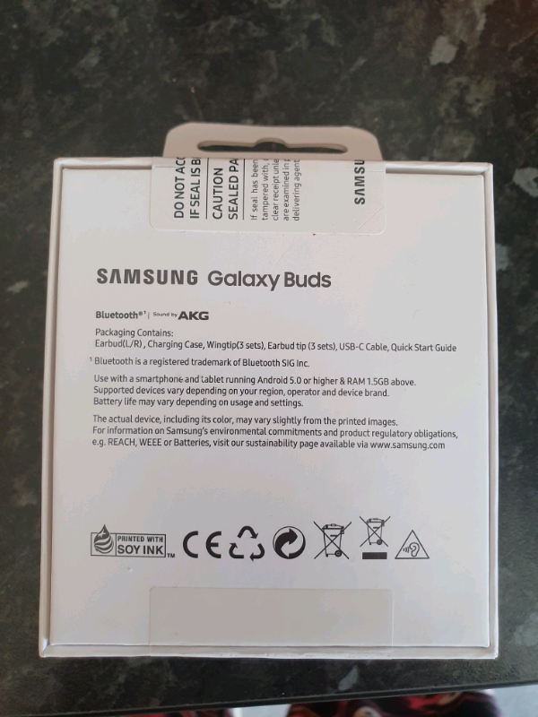 Samsung Galaxy Buds (White) still sealed