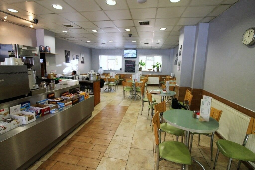Ground Floor & Lower Ground Floor Running cafe & Deli near Barbican Station –Viewing by appointment
