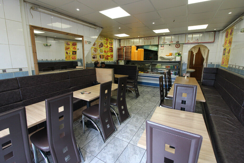 Prime location in the heart of Luton fully equipped running restaurant and a 4 bedrooms flat on top