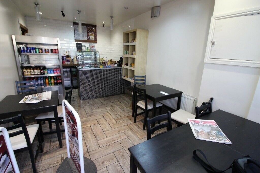 Next to West Ruislip Station Indian Takeaway and Cafe –Viewing STRICTLY by appointment