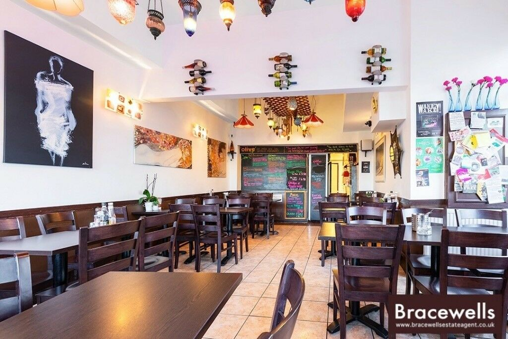 A3 Restaurant 'The Olive' Cafe Bar Hornsey Crouch End N8 – REDUCED PREMIUM