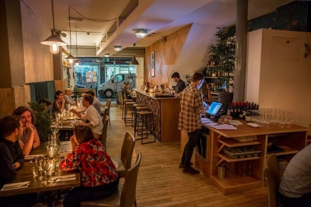 A3 Restaurant and Cocktail bar in the heart of Shoreditch, Bricklane area for sale 50K