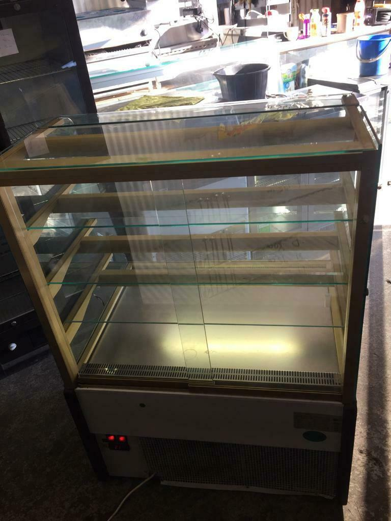 Cake display fridge for restaurant cafe shops