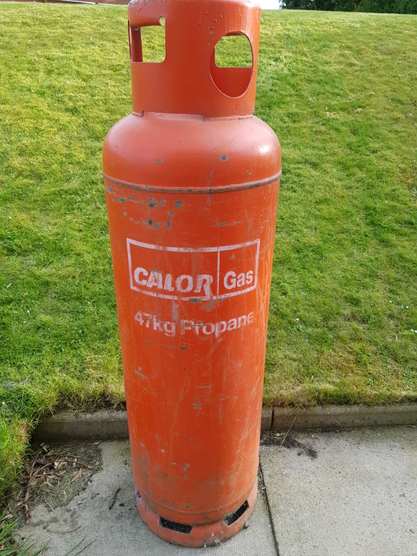 47kg Full Propane Calor Gas Bottle